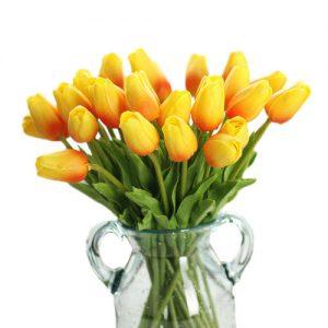 tulipanes-naranjas-seda